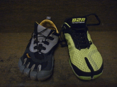 FiveFingers ja Born2Run