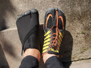 Muddus Utter vs ZEMgear Terra Tech Ninja barefoot shoes